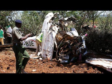 Fünf Menschen sterben bei Flugzeugabsturz in Kenia