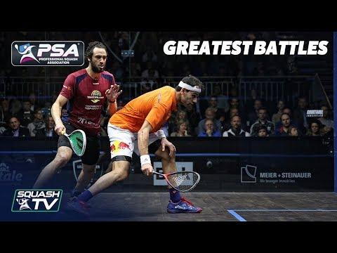 Squash: Ramy Ashour v Mohamed ElShorbagy - Greatest Battles