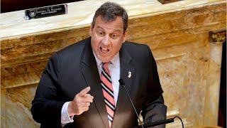 NJ Governor Chris Christie defends use of beach closed to public