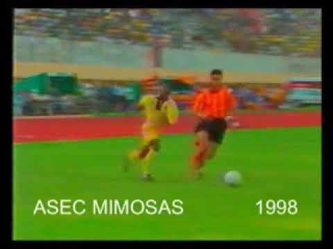 la honte taraji vs Asec mimosas super coupe 1998