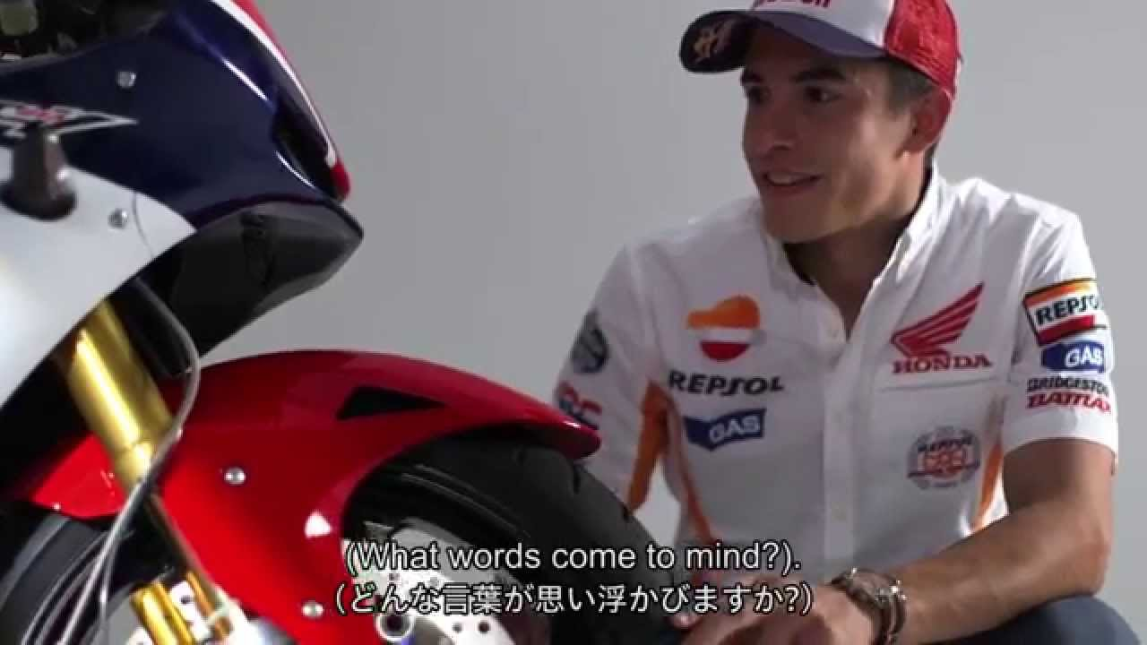 Marc Márquez's first impressions of the RC213V-S