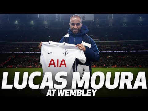 LUCAS MOURA IS PRESENTED AT WEMBLEY (видео)