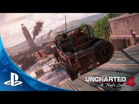 UNCHARTED 4: A Thiefs End - E3 2015 Press Conference Demo