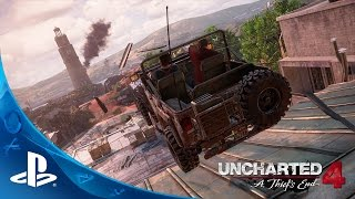 UNCHARTED 4: A Thief's End - E3 2015 Press Conference Demo | PS4 -