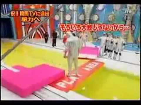 Funny Japanese Game Show - Human Tetris (видео)