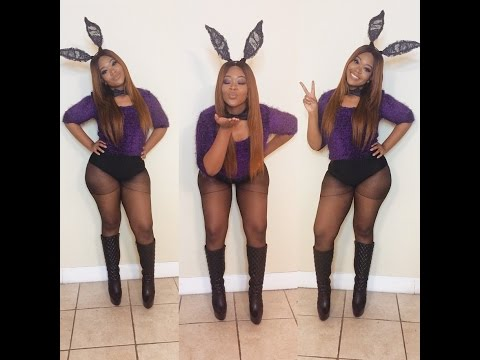 My Basic Sexy Bunny Rabbit Costume | Halloween 2015