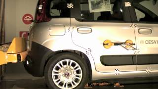Bumper Test Trasero Fiat Panda