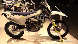8. 2018 Husqvarna FE 450 - Walkaround - 2017 EICMA Milan Motorcycle Exhibition