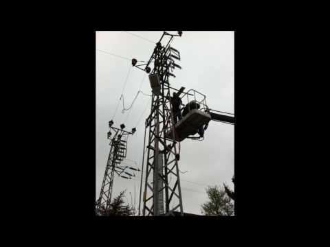 Çağlayan Elektrik Samandıra 36kV Ayırıcı Demontaj+Montaj+Parafudr Montaj