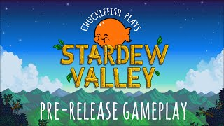 Join Catherine, Jay, Finn and William as they play through a near complete build of Stardew Valley!Stardew Valley - Coming to PC February 26th!Official Website: http://www.stardewvalley.netSteam Page: http://store.steampowered.com/app/413...ConcernedApe on Twitter: http://www.twitter.com/concernedapeYou've inherited your grandfather's old farm plot in Stardew Valley. Armed with hand-me-down tools and a few coins, you set out to begin your new life. Can you learn to live off the land and turn these overgrown fields into a thriving home? It won't be easy. Ever since Joja Corporation came to town, the old ways of life have all but disappeared. The community center, once the town's most vibrant hub of activity, now lies in shambles. But the valley seems full of opportunity. With a little dedication, you might just be the one to restore Stardew Valley to greatness!
