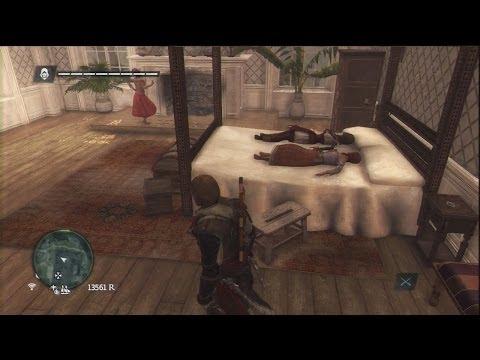 Assassin's Creed 4 Easter Egg, Two Girls One Assassin