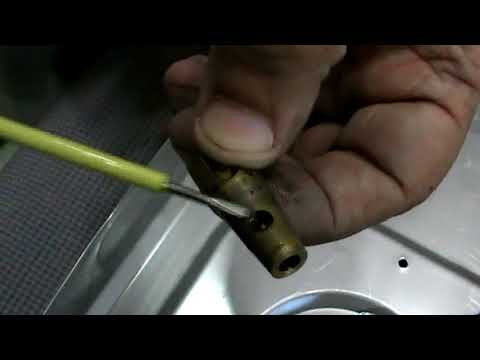 How To Service The Gas Valve of Gas Stove