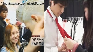 Video BTS (방탄소년단) making Big Hit staff laugh so hard! MP3, 3GP, MP4, WEBM, AVI, FLV Maret 2019