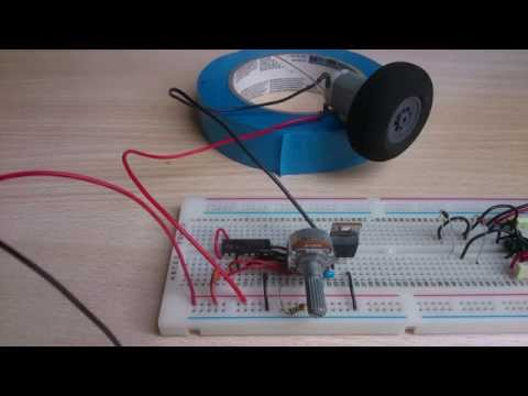 Arduino Controlled Ping Pong Balls Launcher Arduino