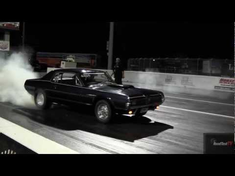 Supercharged Roush Mustang vs. 1967 Cougar