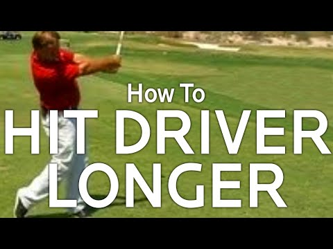Golf Distance:  How To Hit The Driver Longer