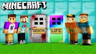 LIFE DOOR vs. DEATH DOOR! (The Pals Minecraft)
