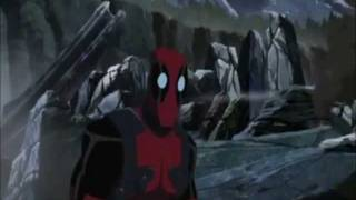 Deadpools Parts In Hulk Vs Wolverine