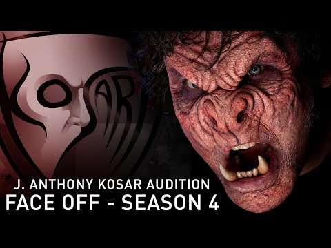 faceoff - Here is my full audition video for FACE-OFF Season 4 where I introduce myself while I design, sculpt, mold, cast, pre-paint, and apply an original prosthetic...