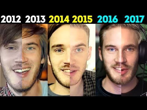 THE EVOLUTION OF PEWDIEPIE | 2010 - 2017