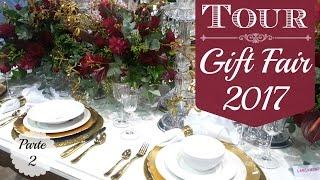 Neste vídeo eu compartilho com vocês a primeira parte do Tour pela Gift Fair, uma feira voltada para decoração, artesanato e design. Nesta feira podemos conhecer as novidades, lançamentos e tendências para 2017!Tour na Gift Fair 2017 - parte 1: https://youtu.be/RmIQ9eG3uAc
