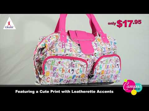 campusteamwearvideos - Chasse's cheer purse (B505) is a great way to carry everything you need while showing the world your 'cheerleader pride'. Our cheer purse is constructed of l...