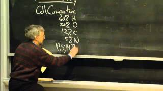 Types Of Organisms, Cell Composition, Excerpt 2 | MIT 7.01SC Fundamentals Of Biology