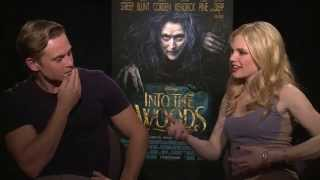 Into The Woods Interview - Mackenzie Mauzy & Billy Magnussen