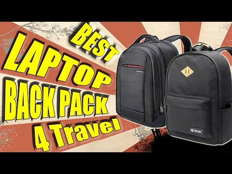 The Best Laptop Backpack For Travelling 2017 (TomToc)