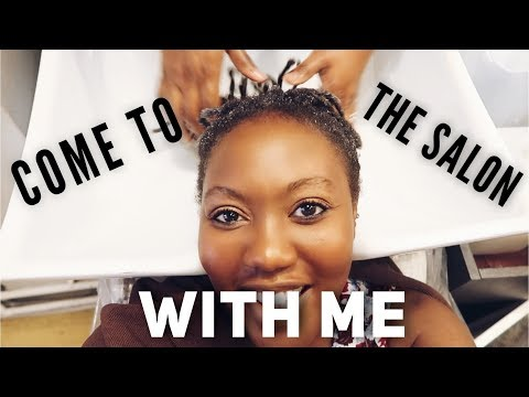A WEEKEND VLOG: COME HAIRDRESSER WITH ME  LIFE OF NKEM