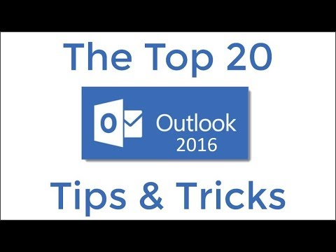 Top 20 Tips dan Trik Outlook 2016