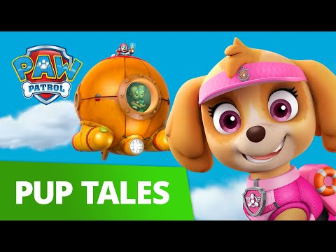 PAW Patrol | Pups Save the Flying Diving Bell | Sea Patrol Episode | PAW Patrol Official & Friends