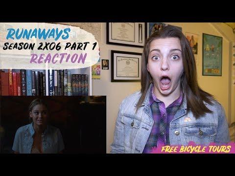 "Marvel's Runaways Season 2 Episode 6 ""Bury Another"" REACTION Part 1"