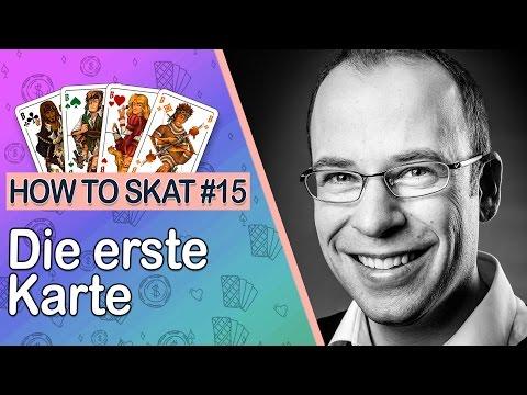 How to Skat #15: Die erste Karte (mit Untertiteln)