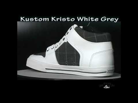 Kustom Billabong Kristo White Grey Skaterschuhe bei getshoes.de