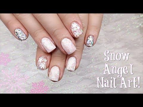 Snow Angel Nail Art  Collab With Sarah's Nail Secrets!