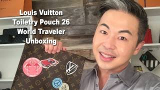In this episode of Mr. Jan All In One, Steve unboxes his latest Louis Vuitton haul ... the Louis Vuitton Toiletry Pouch 26 World Traveler! This is another pi...