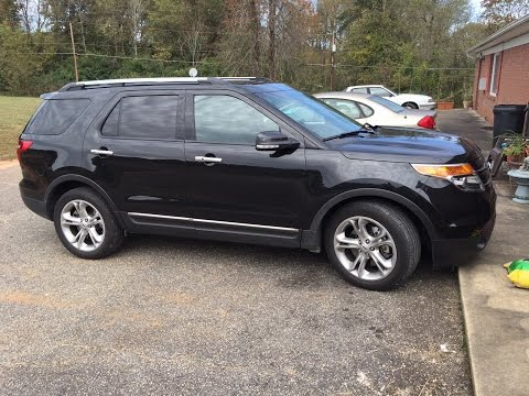 Ford 2014 explorer limited фото