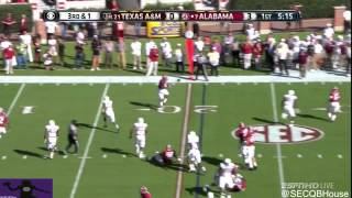 Blake Sims vs Texas A&M (2014)