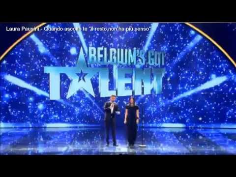 Laura Pausini – Belgium's Got Talent 01/Dicembre/2013