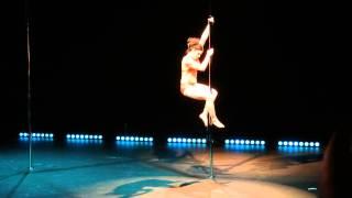 Sandra De Sloovere - Championnat Suisse De Pole Dance 2014 (vice-championne)