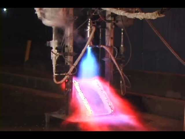 Lox-alcohol-rocket-engine-throttling-test