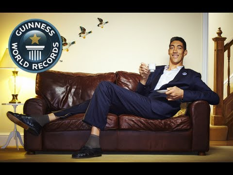 Tallest Man in the World: Sultan Kösen - New Record! - Guinness World Records