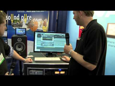 Waves HEQ Hybrid Equalizer Plugin Demo – AES 2011