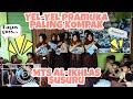 Yel Yel Anak-anak pramuka penggalang MTs Al-Ikhlas Susuru Regu Siti Aisyah