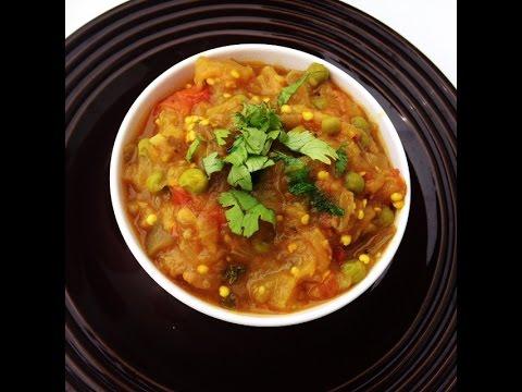 Punjabi Style Eggplant Tomato curry Recipe