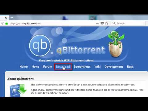 How to Install qBittorrent v4.0.1 (64-bit)