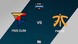 FaZe vs fnatic, game 1
