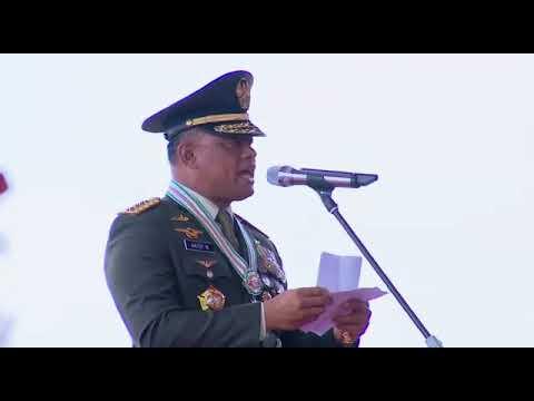 Presiden Terjebak Macet Sebagai Irup Pada HUT TNI Ke 72 di Cilegon