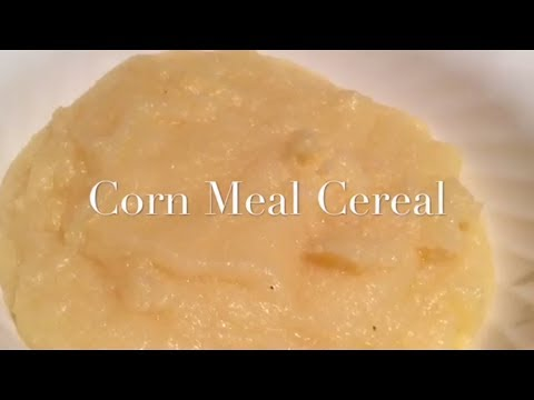 Corn Meal Cereal (rice Cooker)